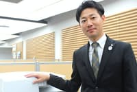 キヤノンマーケティングジャパンの吉田真人さん