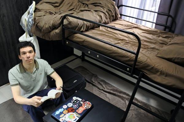 民泊解禁を境に民泊をやめるという家主は多い(写真は宿泊客のエスタジェさん、東京都杉並区)