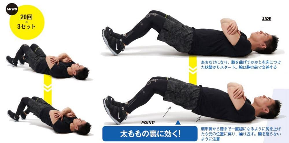 トレーニング ハム ストリング