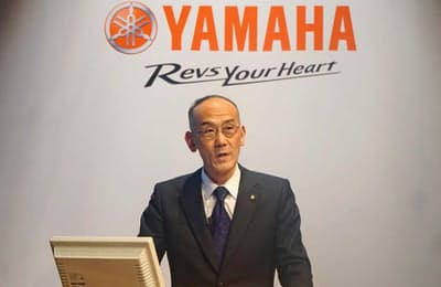 決算説明会に出席した日高祥博社長(2018年2月13日)