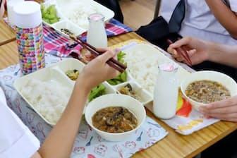 子どもの「食」を守る学校給食