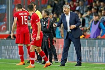 コーチは試合中のデータをもとに的確な指示を出せるようになる(写真は5月に開かれた国際親善試合でのトルコチーム)=ロイター