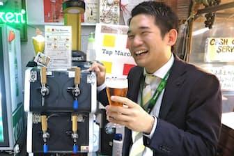 キリンビールの宮崎玲さん