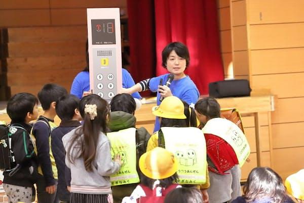 全国各地の小学校、保育園、幼稚園等で防犯に関する講演を行っている清永奈穂さん