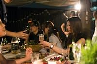 REALBBQは都心エリアを中心に、より本格的なメニューも展開(東京・渋谷の千駄ケ谷店)