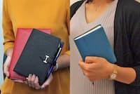 「ルールは最小限に」プロの手帳はシンプル(nikkei WOMAN Onlineより)=写真/編集部