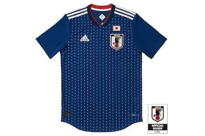 W杯ロシア大会で日本代表が着るホーム用のユニホーム