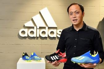 アディダス ジャパンのアディダスマーケティング事業本部 Football ビジネスユニット マーチャンダイジングの山口智久シニアマネージャー