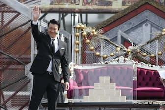 「リアルカイジGP」ではタレント・加藤浩次さんの司会も見どころ=AbemaTV提供