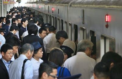 大規模な乗換駅では五輪期間中に利用者がさらに1~2割増えるという