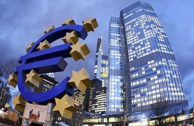 欧州中央銀行は6月14日、量的緩和政策を2018年中に終了する方針を決めた=AP