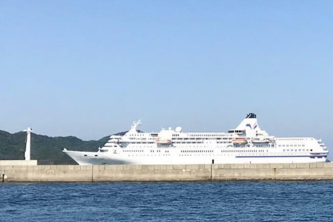 「都民クルーズ」で乗船した大型客船