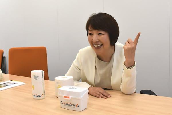 アスクル創業メンバーの一人でCMOの木村美代子氏