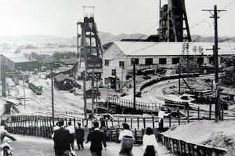 常磐炭鉱では10代で働く人も珍しくなかった=いわき市石炭・化石館提供