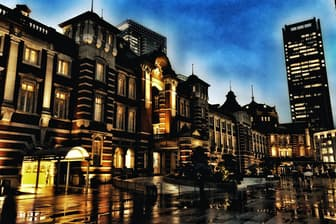 雨の日こそ、絵になる写真を撮るチャンス(iPhone Xで撮影)
