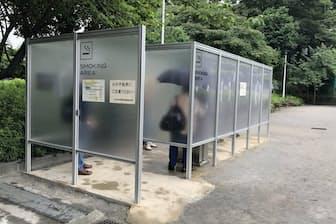 都が設置費を補助することもあり、公衆喫煙所が増える可能性がある(東京都文京区)