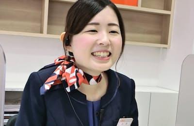 auショップ小岩駅前の太田真梨彩さん