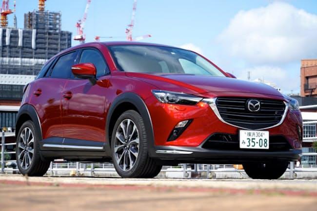 2018年5月に大幅に改良されたマツダのコンパクトSUV「CX-3」(希望小売価格は税込み212万7600~309万4480円)