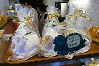 イースターに売り出された動物パン。見ていて楽しくなるし、誰かにプレゼントしたくなる