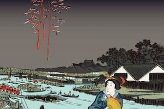 打ち上げ花火は昔から納涼の定番(イメージ=PIXTA)