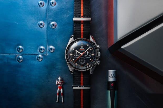 0af79b94a8d8 スイスの高級時計メーカー、オメガは主力の「スピードマスター」から「ウルトラマン」リミテッドエディション を2012本の世界限定で発売する。予価は税別76万7000円。