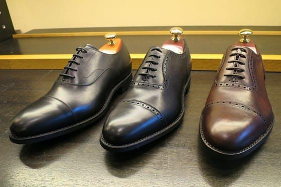 履き心地や耐久性に優れた英国伝統の靴の製法を採用