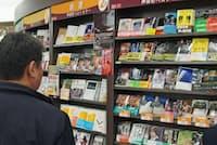 書店で目立つ棚を確保するには、書店側への売り込みが肝心という