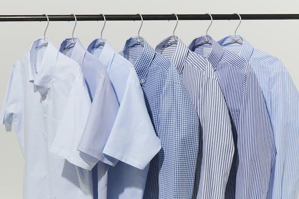 暑さ対策にクールビズを取り入れながら、清潔感を保った装いも意識したい。写真はAOKIが展開するORIHICA「SUPERCOOLシャツ」(税抜き3900円)