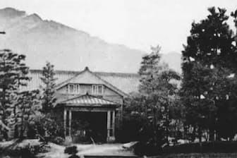 最初に入学した西条南高校農業科(現・西条農業高校、1950年ごろ)