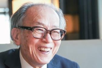 外山滋比古さんは「ギャンブルは人間にとって極めて有用な精神的刺激」と話す。(撮影:川田雅宏)