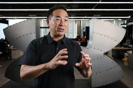 安田秀一ドーム会長。CEO(最高経営責任者)も兼務する