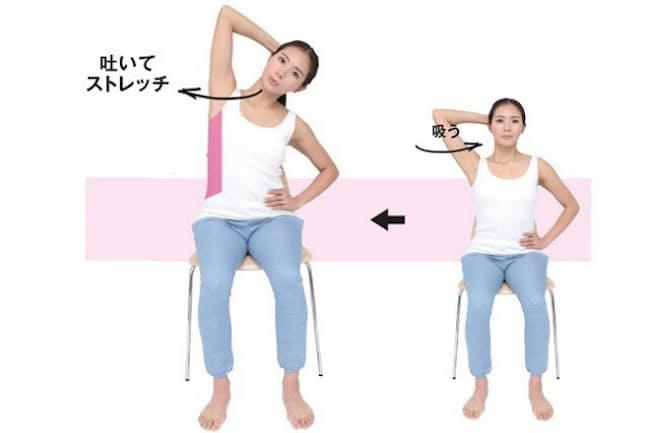 呼吸筋ストレッチは姿勢が良くなる効果も期待できる