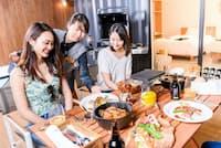 藤乃煌(ふじのきらめき) 富士御殿場のフルサービス・スタイルのディナー