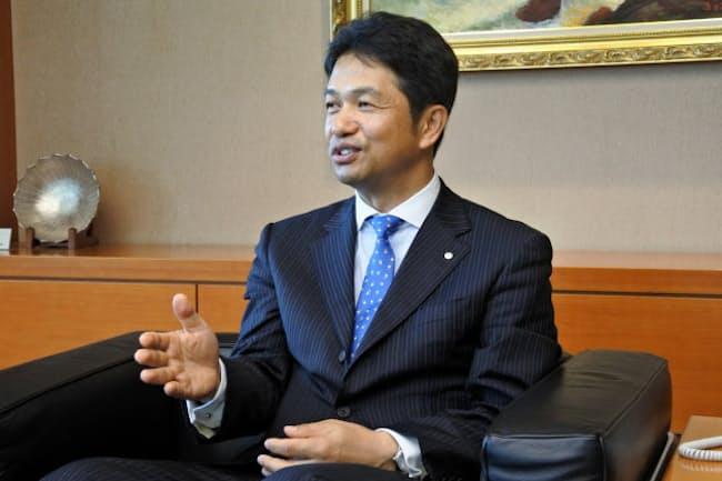 茨城国体での「eスポーツ」実施を推し進めた大井川和彦知事(18年7月、茨城県庁で)