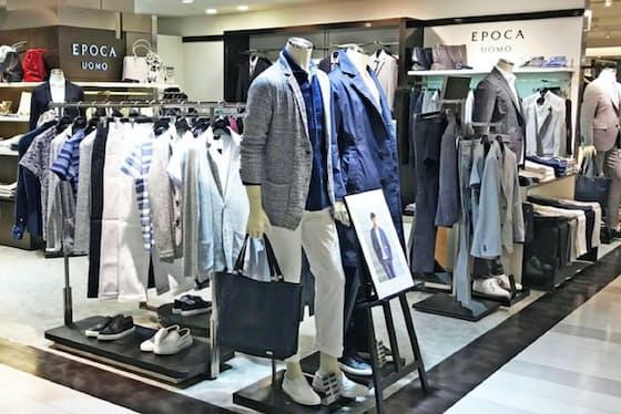 「エポカ ウォモ」は購入者に占める固定客の割合が4割と高いのが特徴