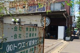最初に手掛けたのは給食センター。経営主体は変わったが、現在も事業は続いている(埼玉県川口市)
