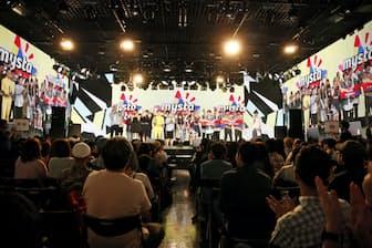 5月にニコファーレで開催した連動リアルイベント「mysta festa」