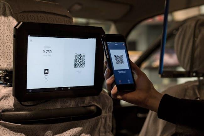 タクシーの利用もスマホ決済や多言語表示でより便利に