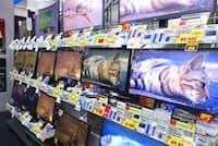 TSUKUMO eX. 2階にある液晶モニター売り場