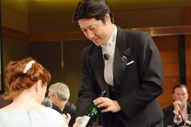 ソムリエの石田博さん