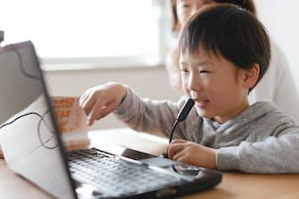 子供向けのオンライン英会話スクールの人気が高まっている=学研ホールディングス提供