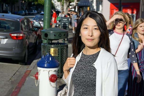 サンフランシスコで勤務する米JPモルガンの高木麻子さん