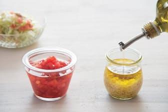 ショウガオリーブオイルとトマト酢で全身の脂肪を燃焼できる