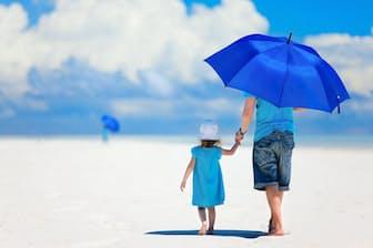 日傘の遮熱効果は絶大。「酷暑の時期は、男女問わず利用することをお勧めします」と平田さん。写真はイメージ=(c)BlueOrange Studio-123RF