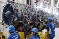 航空エンジン開発の苦労は現代につながった。写真は次世代戦闘機用エンジン「XF9」