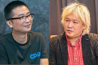 超小型ゲーミングPC「GPD WIN2」を開発したWade氏(左)。世界中で話題になった超小型ゲーミングPCはどうやって生まれたのか