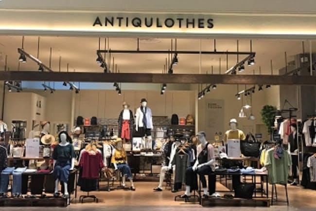 6月にオープンしたアンティクローズの旗艦店