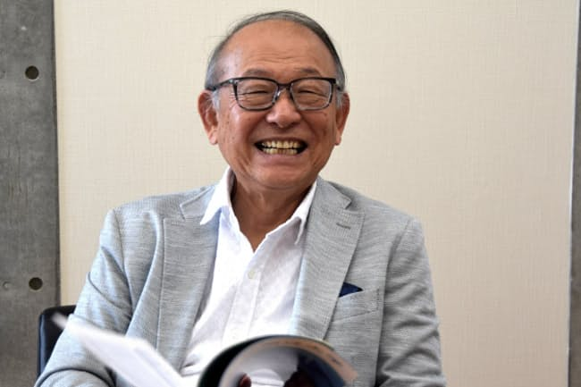 長野県立大学の安藤国威理事長。2000年から5年間、ソニーの社長を務めた