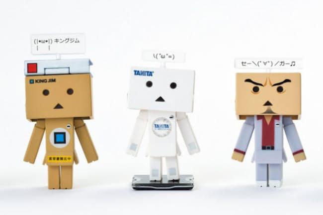 「企業Twitter×ダンボー 中の人コレクション」(タカラトミーアーツ)。ツイッターの人気企業アカウントの「中の人」と「ダンボー」がコラボした、カプセル入り玩具