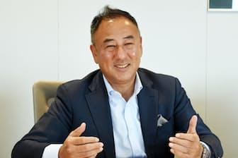 マニュライフ生命保険の吉住公一郎社長兼CEO